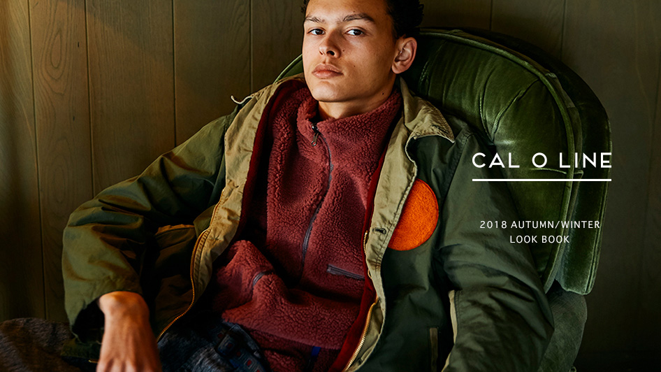 CAL O LINE: 2018 AUTUMN/WINTER LOOK BOOK UP DATE