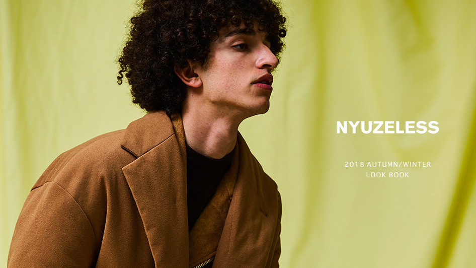 NYUZELESS: 2018 AUTUMN/WINTER LOOK BOOK UP DATE