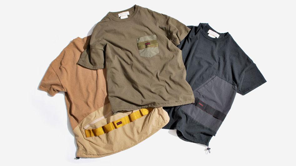 REMI RELIEF×BRIEFINGのコラボTシャツ発売決定