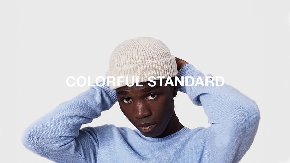 COLORFUL STANDARD: 2020 CAMPAIGN LOOK BOOK UP DATE
